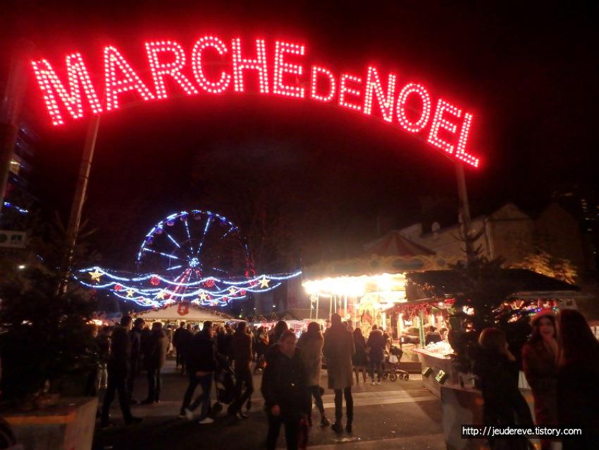 프랑스 렌의 크리스마스 장(Marché de Noel à Rennes)