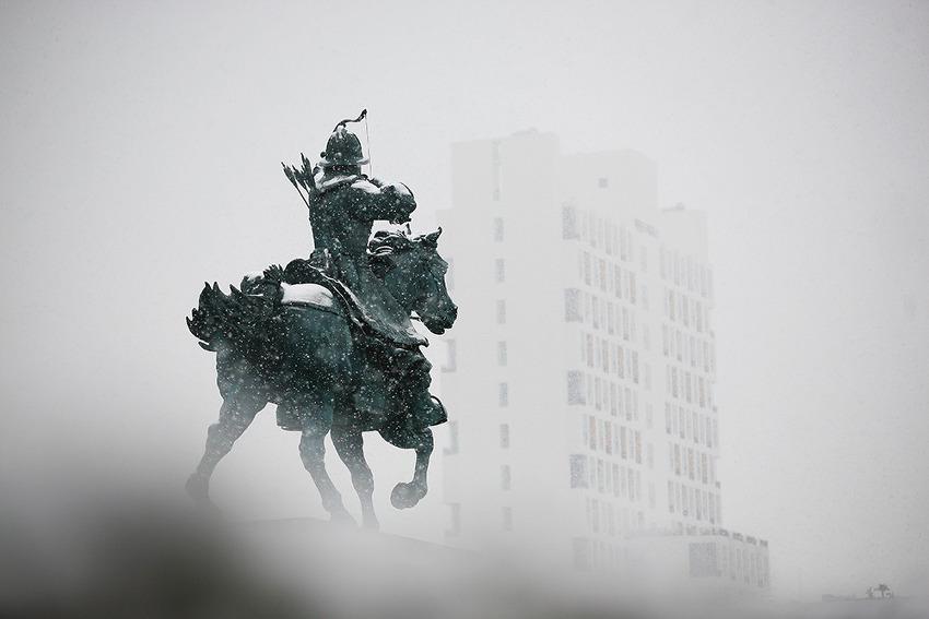 창원에 첫 눈이 내리던 날! (창원명소)