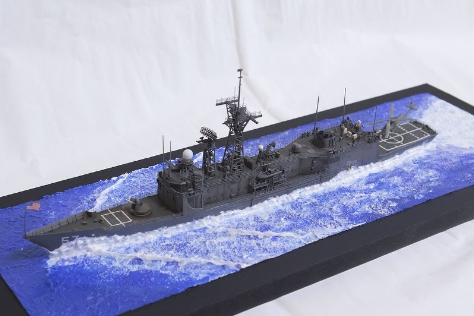 1/350 Oliver Hazard Perry-class figate  USS..