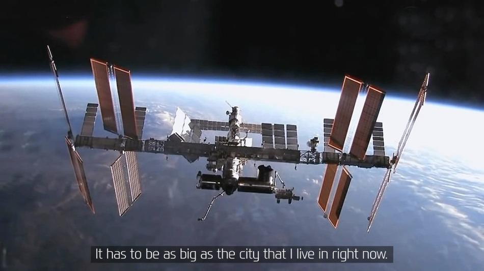 국제우주정거장(ISS)에 있는 우주비행사 아빠에게 보내는 딸 스테파니의 메세지 - 현대자동차(Hyundai Motor Company)의 바이럴필름 광고 'A Message to Space'편.