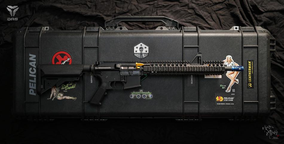 [Rifle] DAS(GBLS) SOPMOD Block II FSP custom order.
