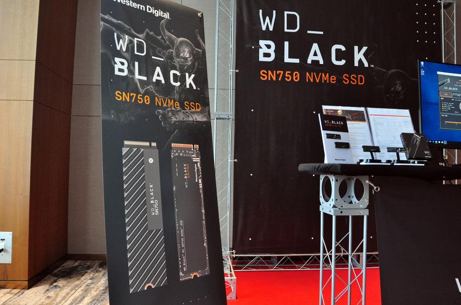 새로운 블랙! WD Black SN750 NVMe SSD 발..