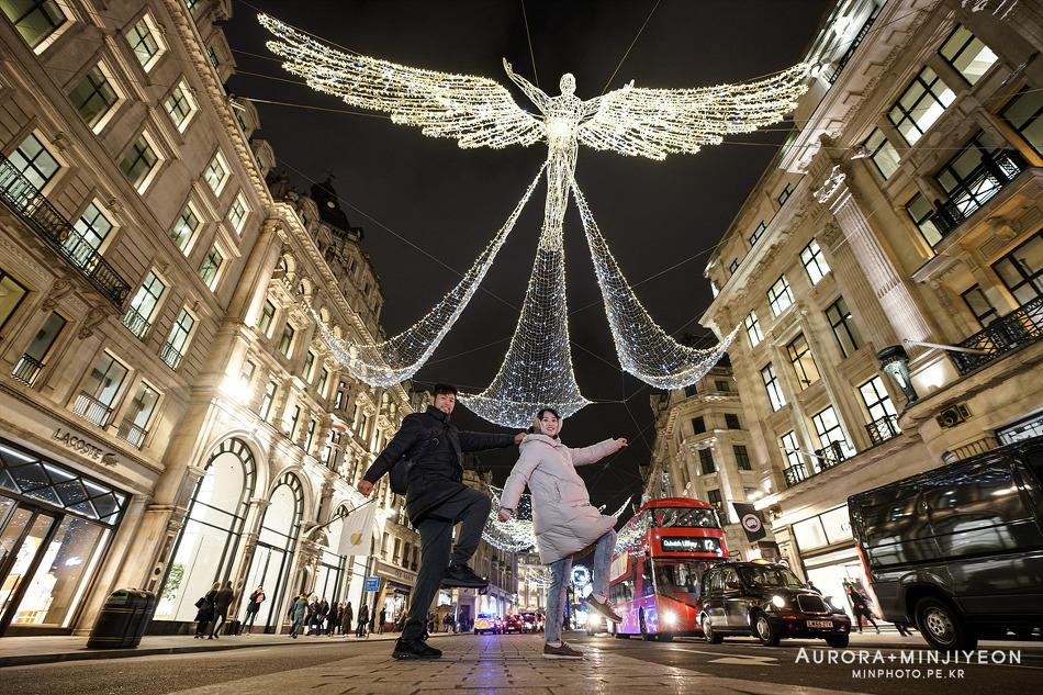 영국 런던 7박9일 여행 일정, 12월 런던 크리스마스 야경 (옥스퍼드 스트리트 & 리젠트 스트리트 & 피카딜리 스트리트)