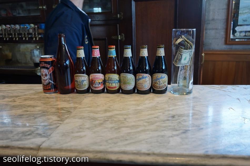 [미국 '총각파티' 여행] Part 5: 샌프란시스코 앵커 맥주 공장 투어