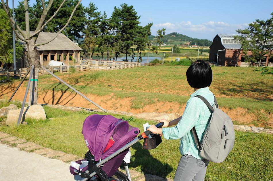 가을, 상하농원을 걸으며