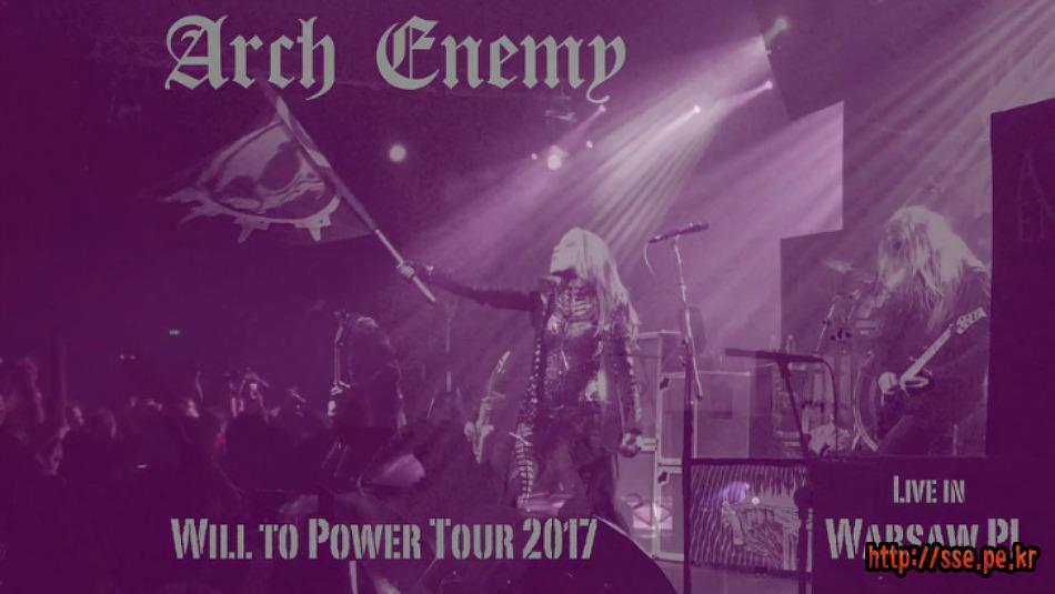 Arch Enemy - Live at Aurora