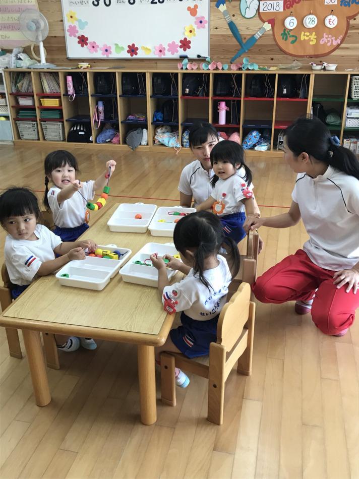 린 유치원 첫 수업참관