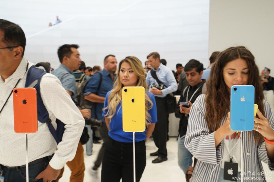 궁금증 해결! 애플 아이폰XR 11월 2일 판매 시작, 아이폰XR 직접 본 느낌은?