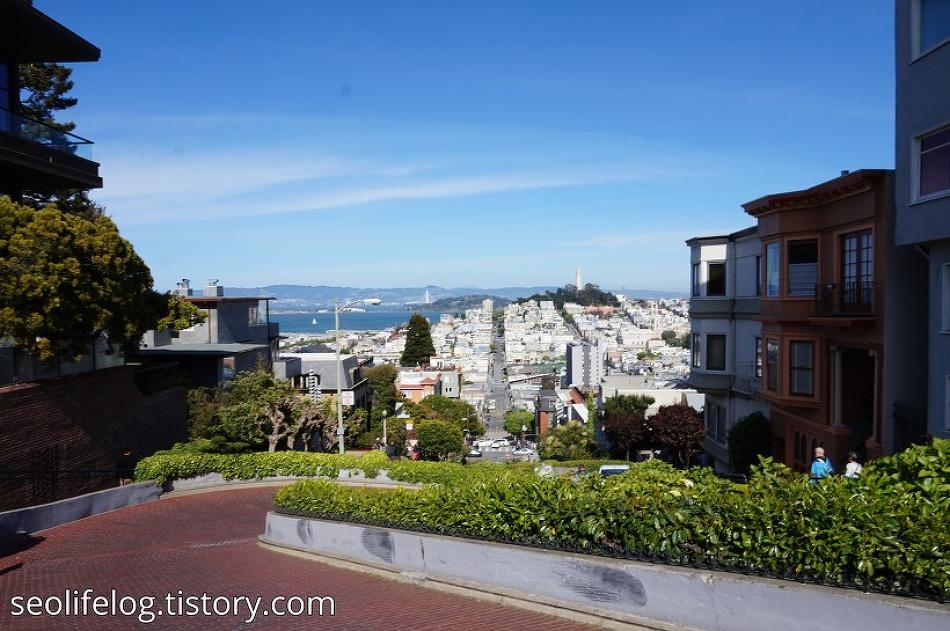 [미국 '총각파티' 여행] Part 4: 샌프란시스코 차이나타운 + 뜻하지않은 하이킹