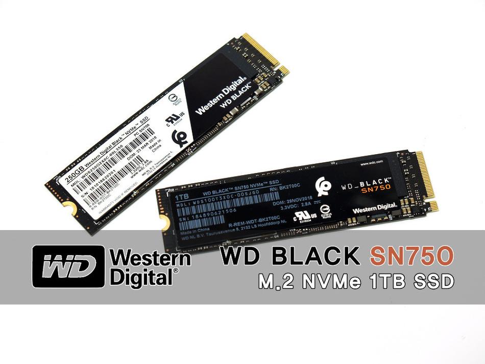 더욱 새로워진 블랙! WD Black SN750 SSD 필..