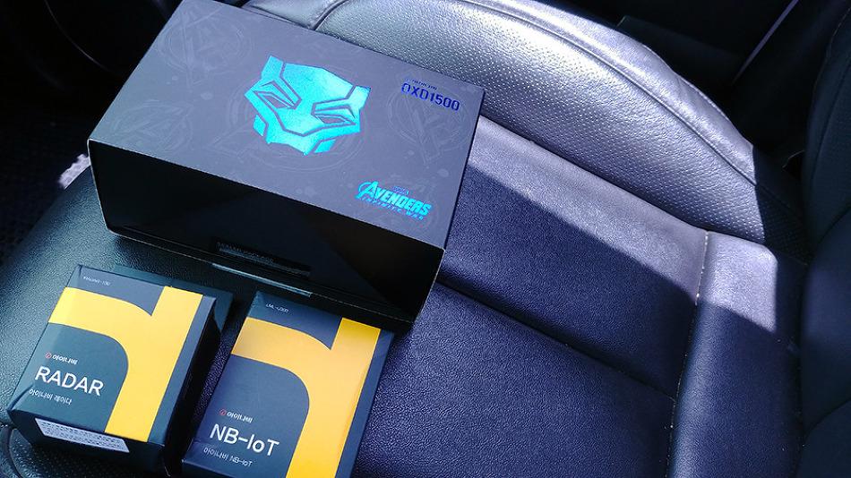 마블 블랙박스 아이나비 QXD1500 블랙팬서 만..