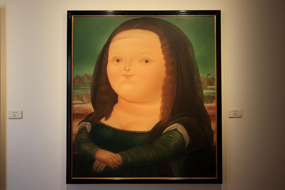 [콜롬비아 보고타 여행] 뚱뚱한 모나리자 그림이 있는 보테로 박물관