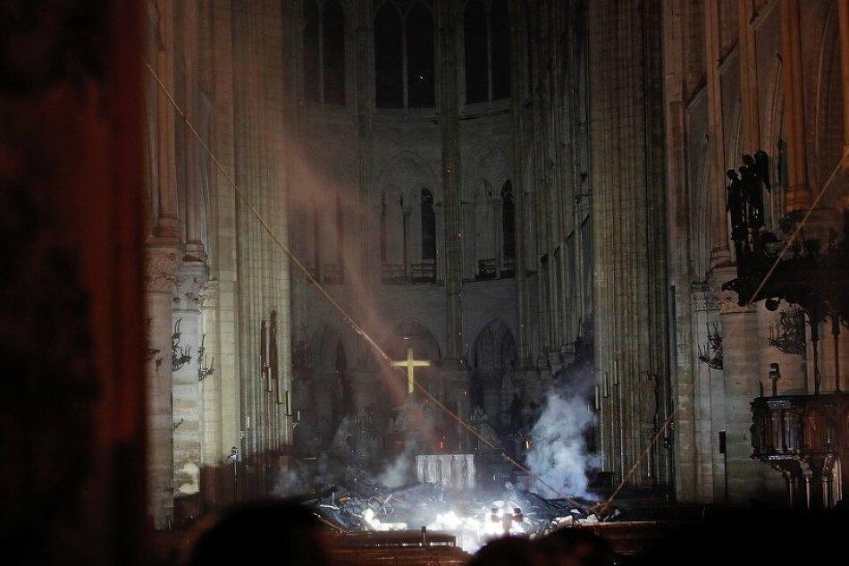 프랑스 파리 노트르담 대성당 화재